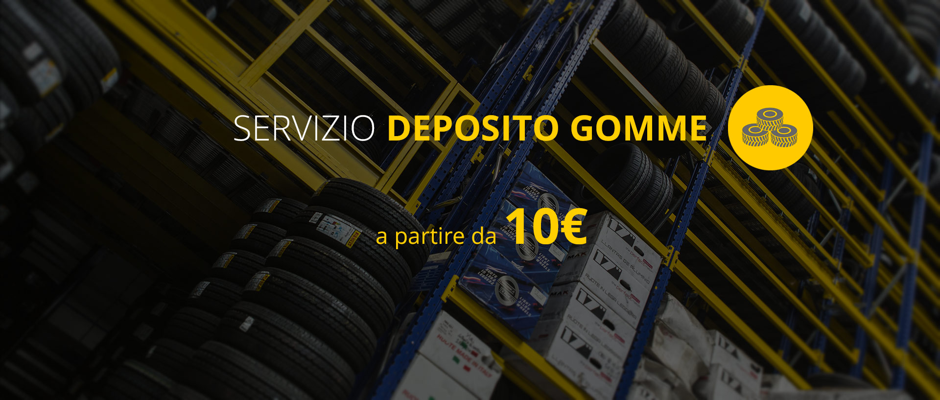 Deposito gomme